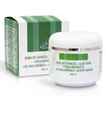 Hidratante y Regeneradora Caracol + Argán + Hialurónico + Rosa Mosqueta