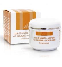 Crema Regeneradora Hidratante Color Caracol + Argán + Hialurónico