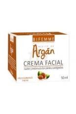Bifemme Crema Facial con Aceite de Argán