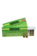 Fortepil Plus - Ampollas Anticaída Acción Intensiva