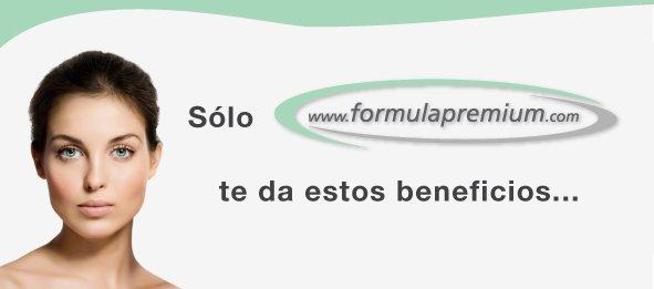 Sólo FormulaPremium te da estos beneficios