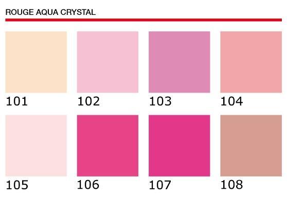 Tonos Rouge Aqua Crystal